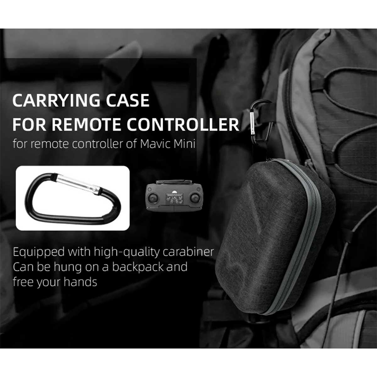 Case de Transporte e Proteção para o Controle Remoto - DJI Mavic Mini