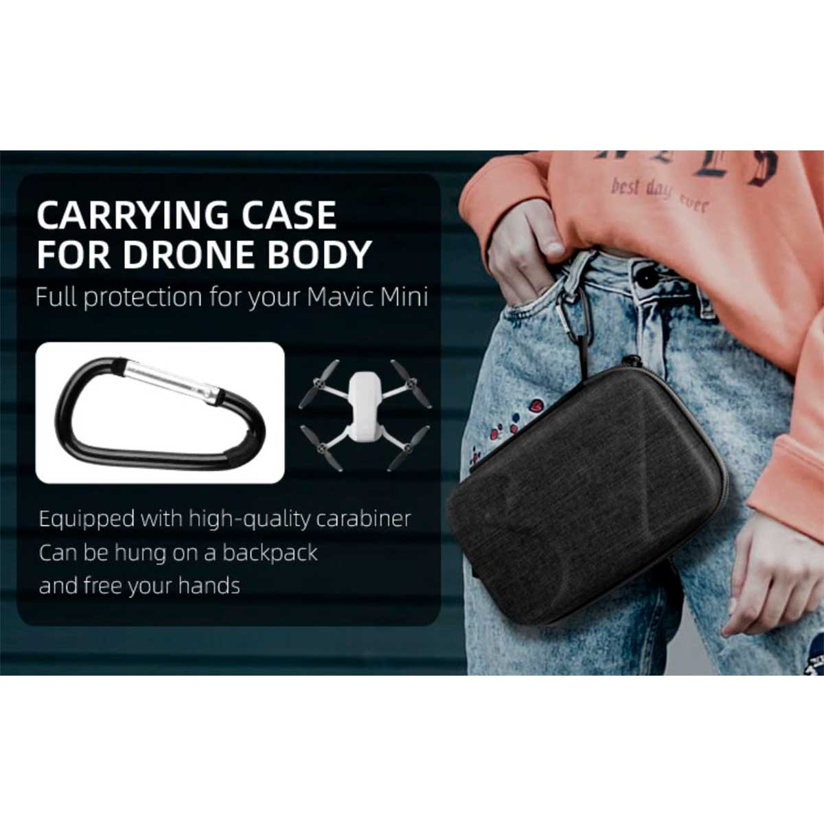 Case de Transporte e Proteção para o Drone - DJI Mavic Mini