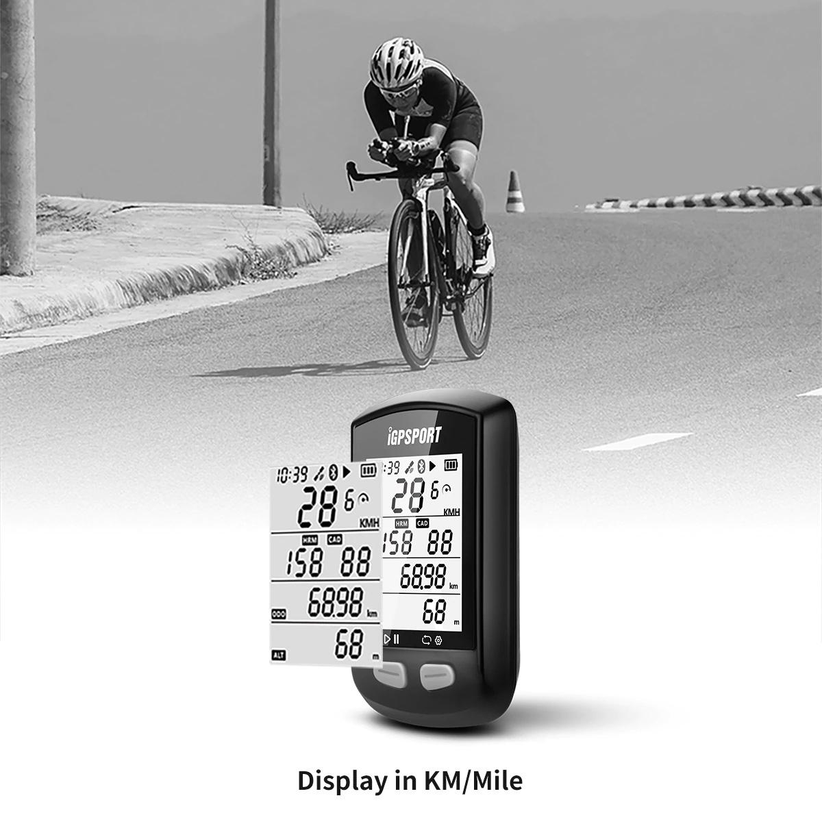 Ciclocomputador IGPSPORT IGS10S GPS