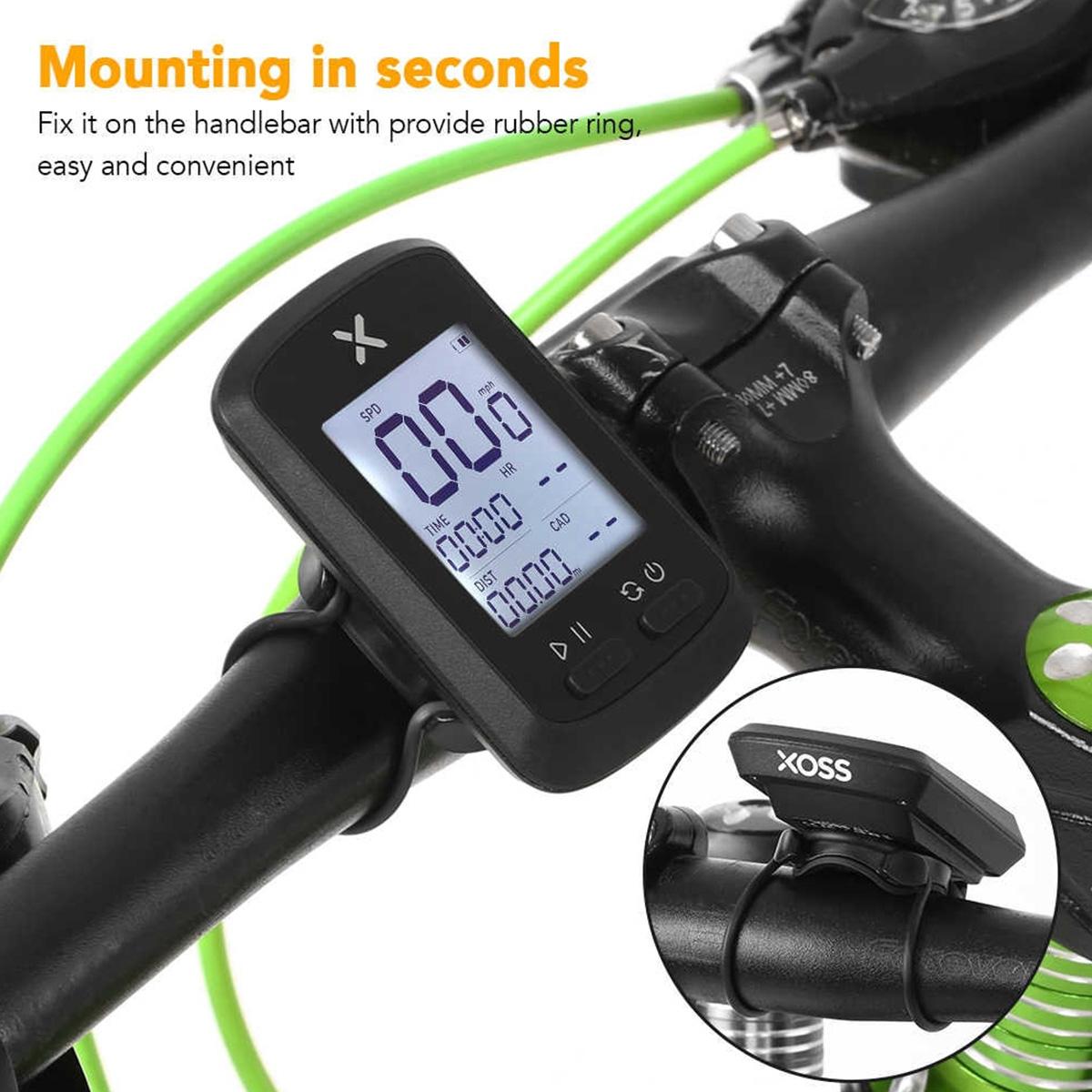 Ciclocomputador XOSS G GPS Bike Bicicleta