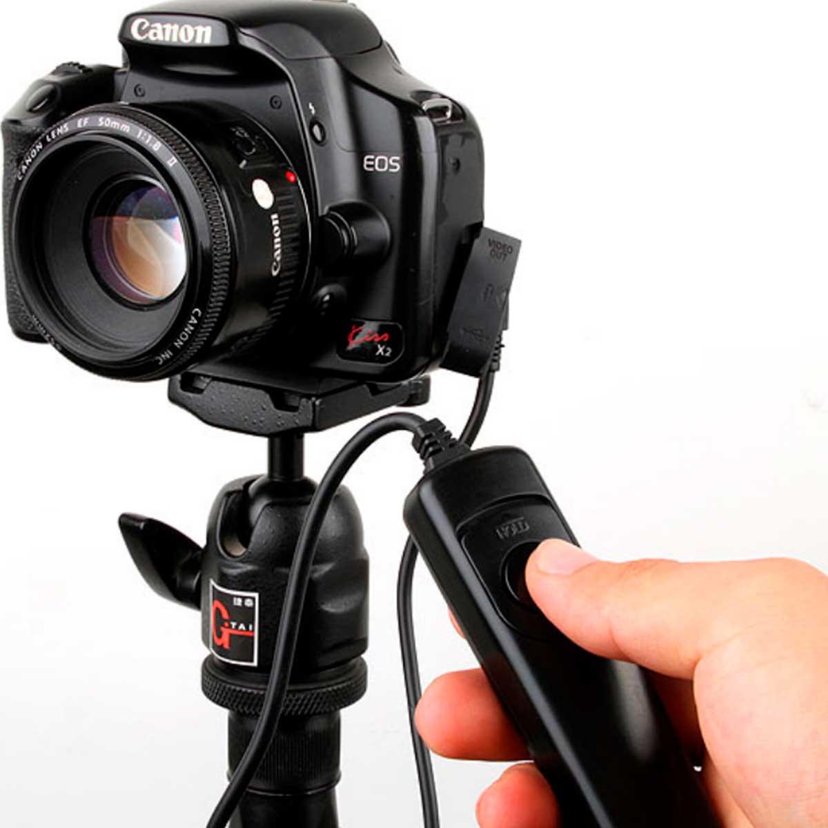 Controle Remoto - Cabo Disparador - RS-80N3 - Canon