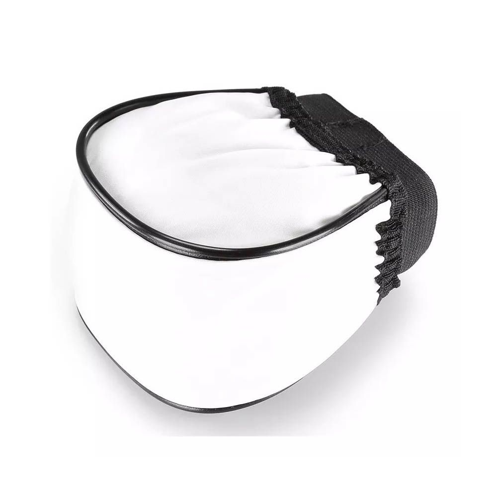 Difusor Branco Flash Universal Omni Bounce Tenda - Nikon Canon