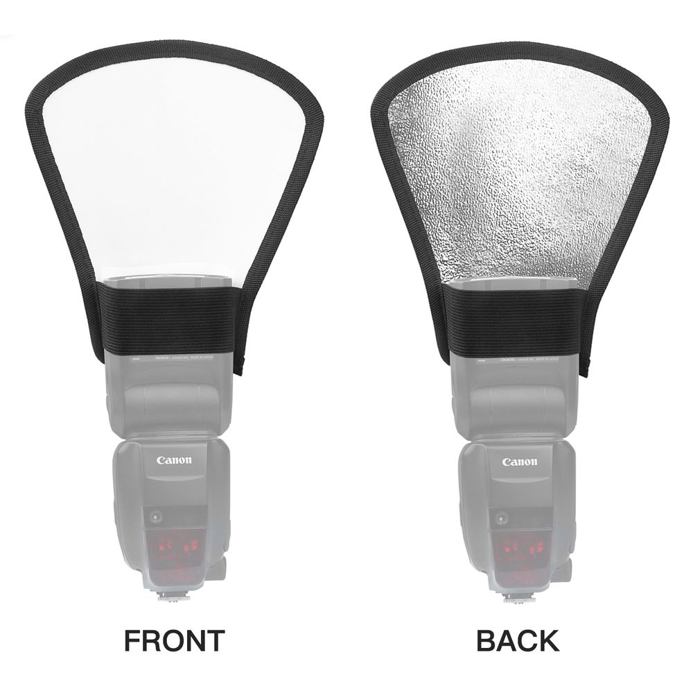 Difusor Rebatedor Refletor Flash - Canon Nikon Universal