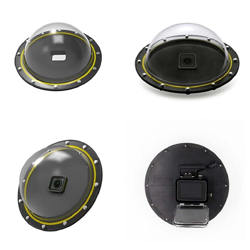 Dome - 6 Polegadas - GoPro Hero5, Hero6 e Hero7 Black - Telesin