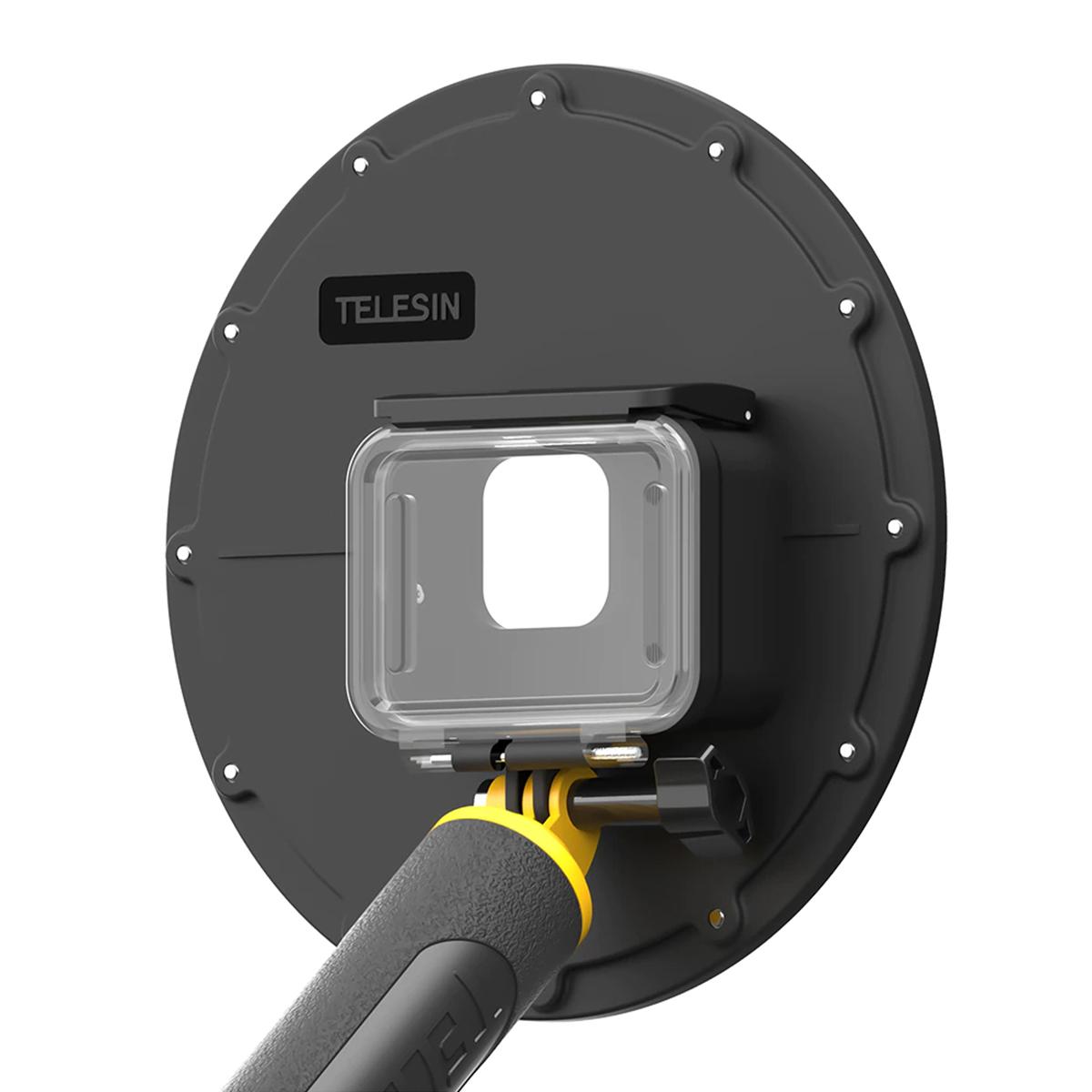 Dome - 6 Polegadas - GoPro Hero9 Black - Telesin