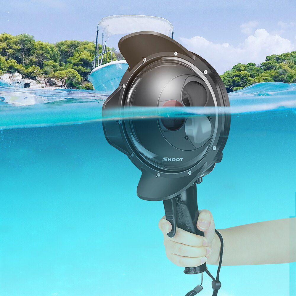 Dome com Filtros de Mergulho - 6 Polegadas - GoPro Hero5 Hero6 e Hero7 Black - Shoot