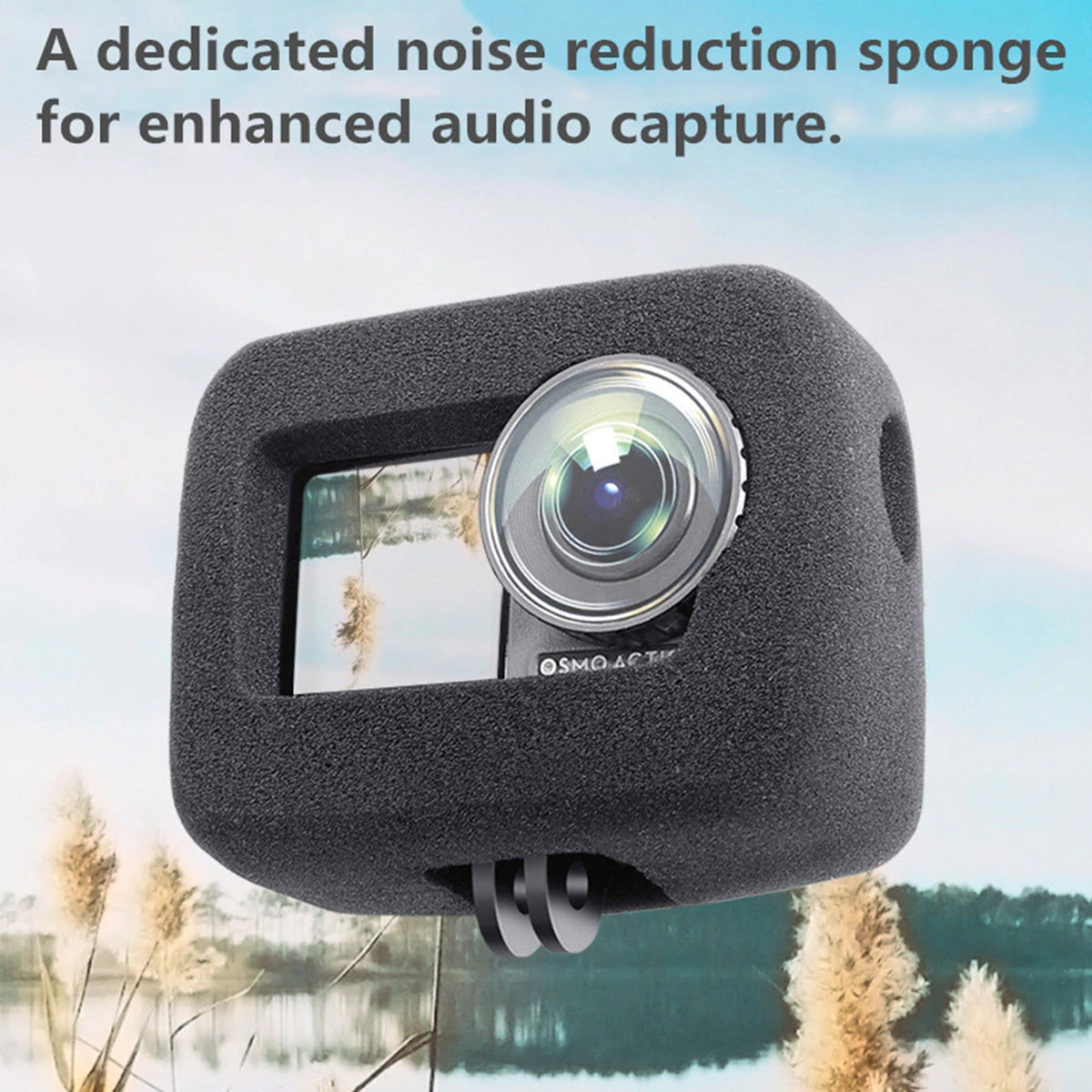 Espuma Acústica - Redução de Ruídos - Osmo Action