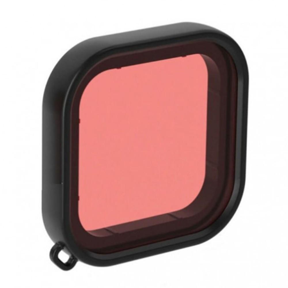 Filtro de Mergulho Snorkel GoPro Hero8 Black - Para Caixa Estanque da Shoot