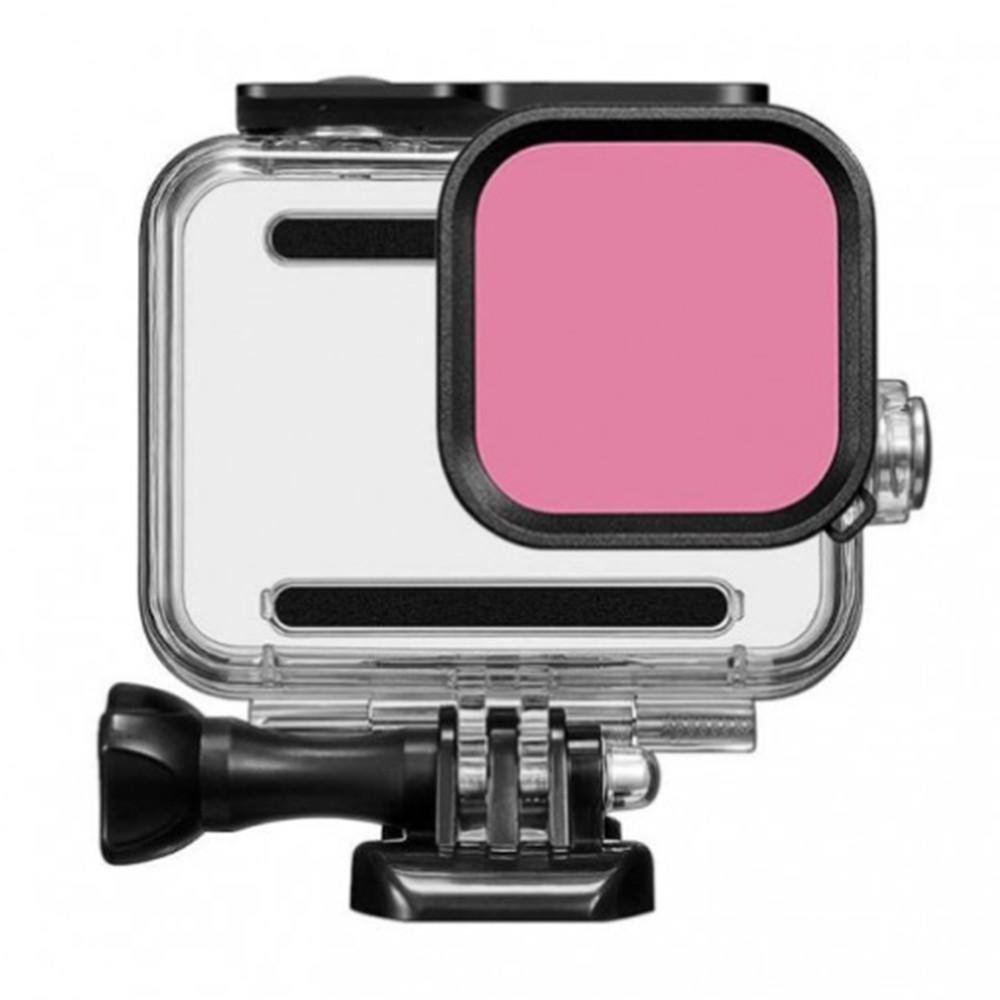 Filtro de Mergulho Snorkel GoPro Hero 8 Black - Para Caixa Estanque da Shoot