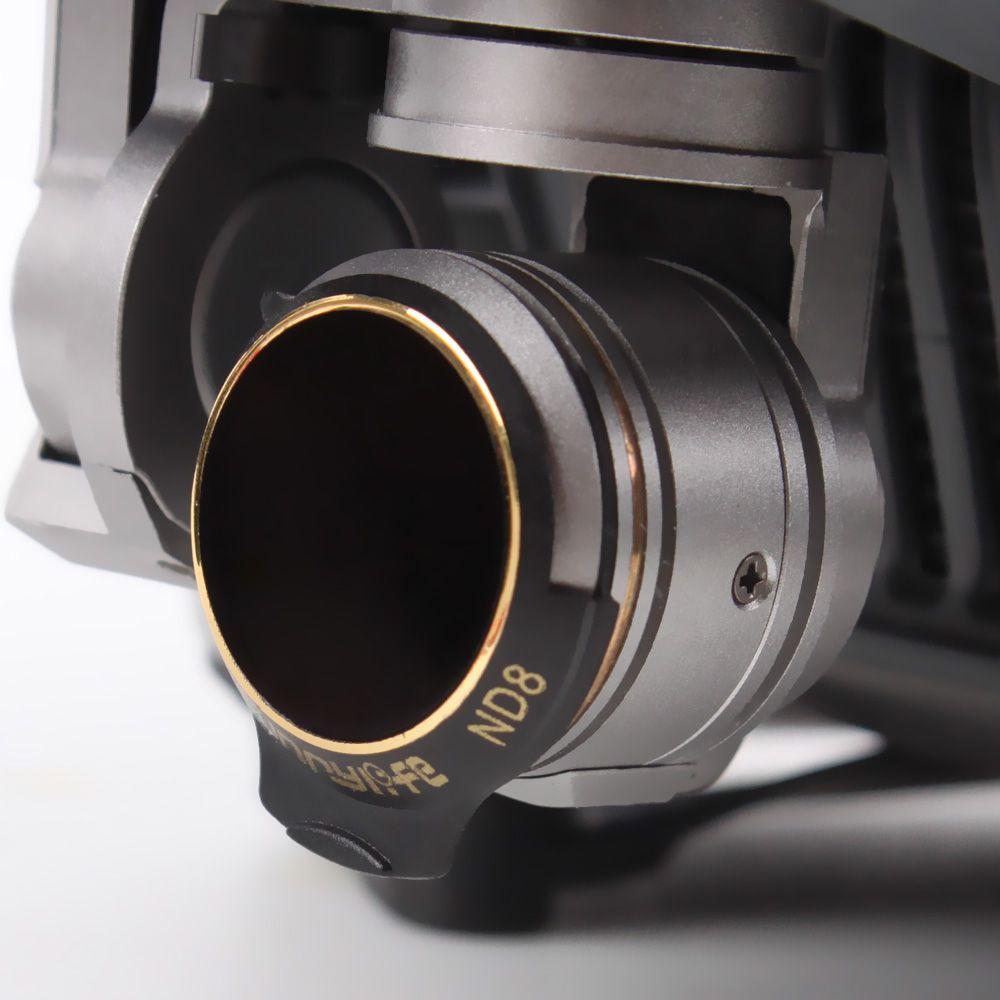 Filtros para Lente Drone DJI Mavic Pro - ND4 ND8 ND16 ND32