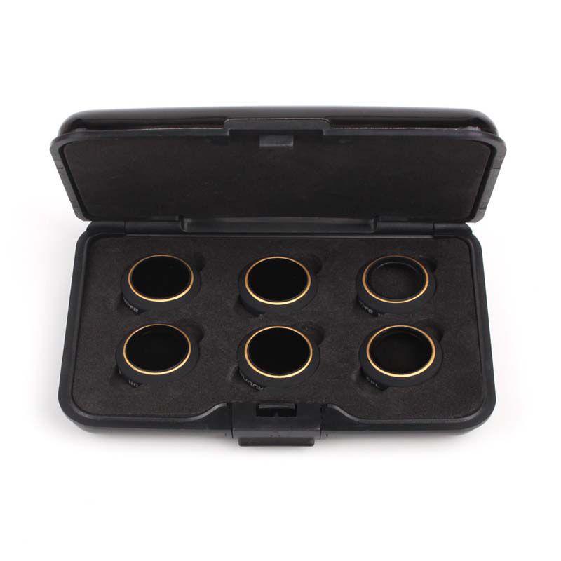 Filtros para Lente Drone DJI Mavic Pro - ND4 ND8 ND16 ND32 MCUV CPL