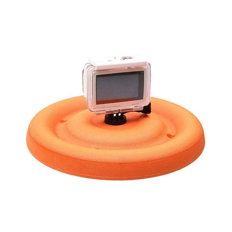 Disco Flutuante - Boia de Flutuação - Floaty Frisbee - GoPro SJCAM Yi Eken