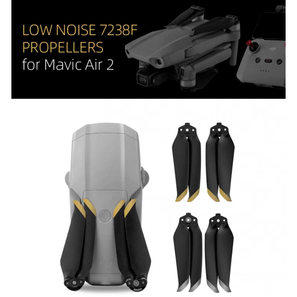 Hélices DJI Mavic Air 2 - Low Noise - 2 Pares