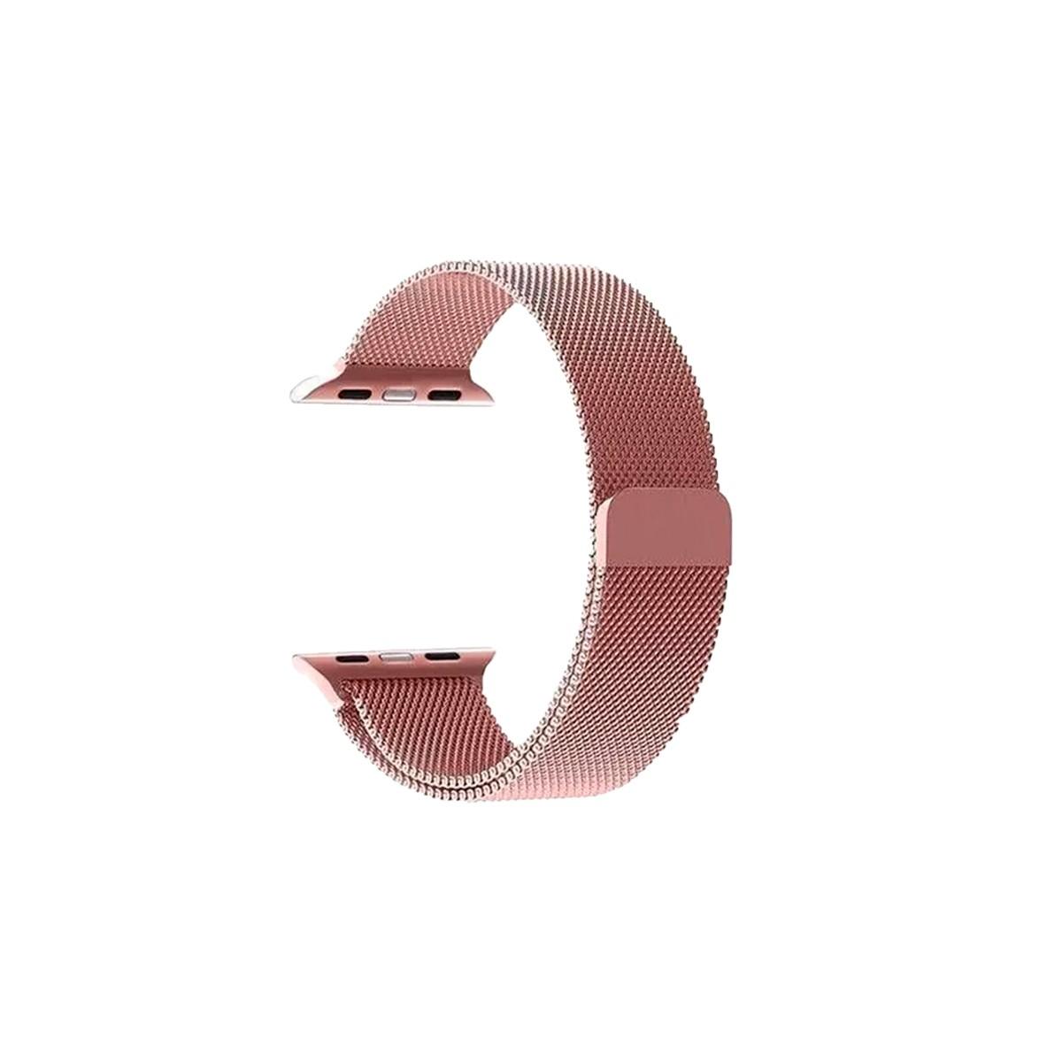 Kit com 2 Pulseira para Apple Watch - Metal e Milanês