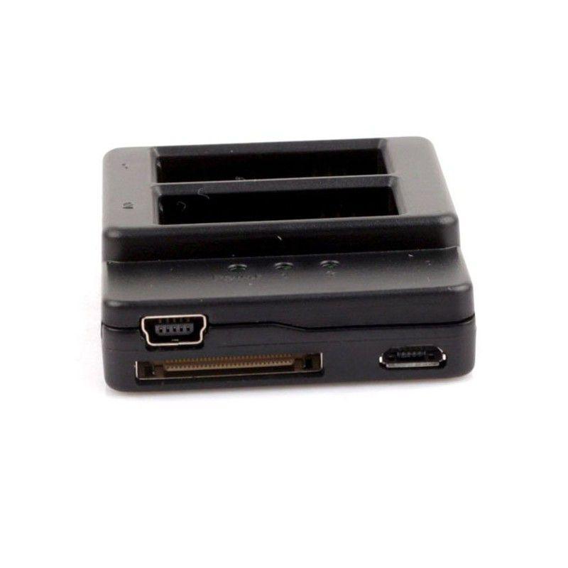 Kit com 2 Baterias e 1 Carregador - GoPro Hero3