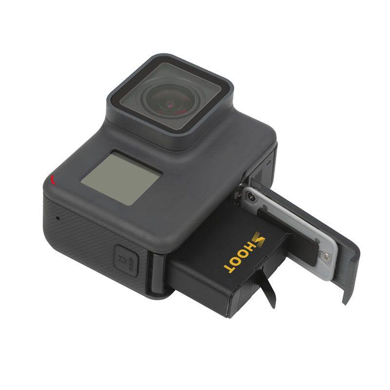 Kit com Carregador Duplo e Duas Baterias - GoPro Hero7 Hero6 Hero5