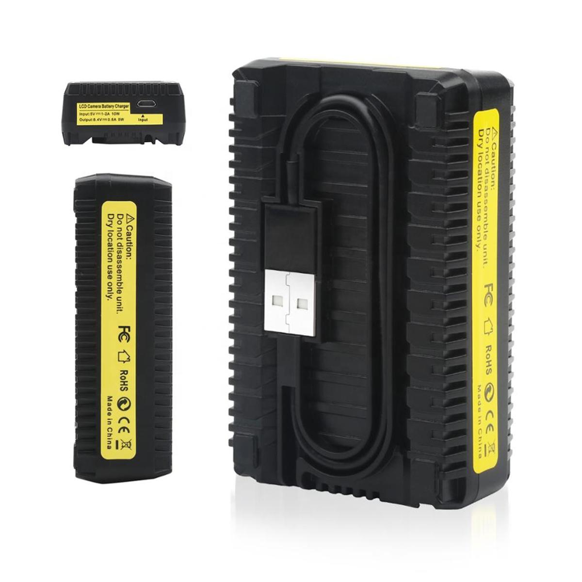 Kit com Carregador Duplo e Duas Baterias - LP-E8