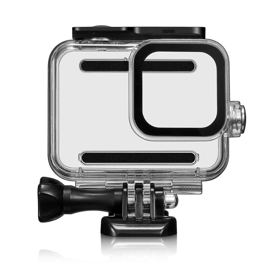 Kit Proteção - Caixa Estanque - Capa Silicone - Película Vidro - GoPro Hero8 - Shoot