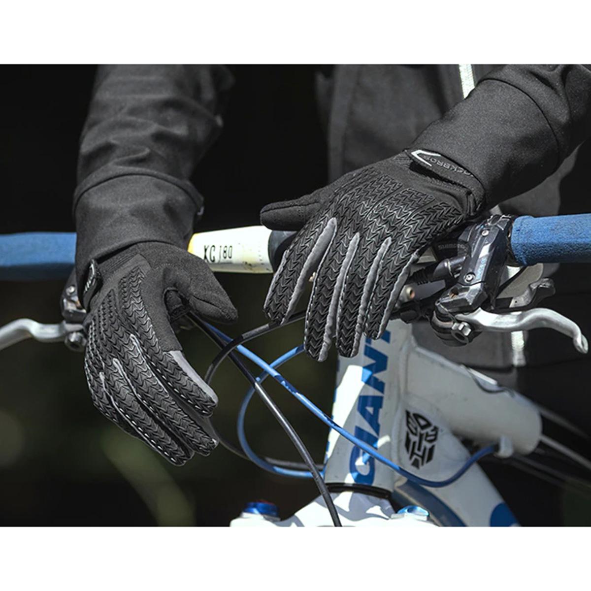 Luva de Gel Dedo Longo Ciclismo Esportiva Rockbros