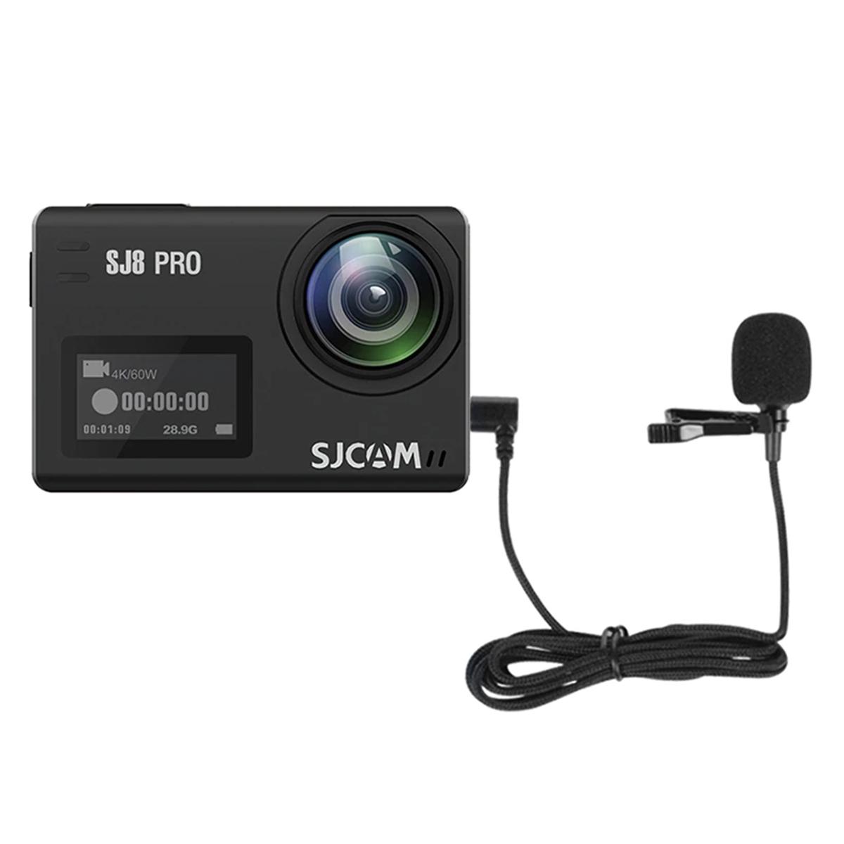 Microfone de Lapela - Tipo C - SJCAM SJ8 SJ9 SJ10