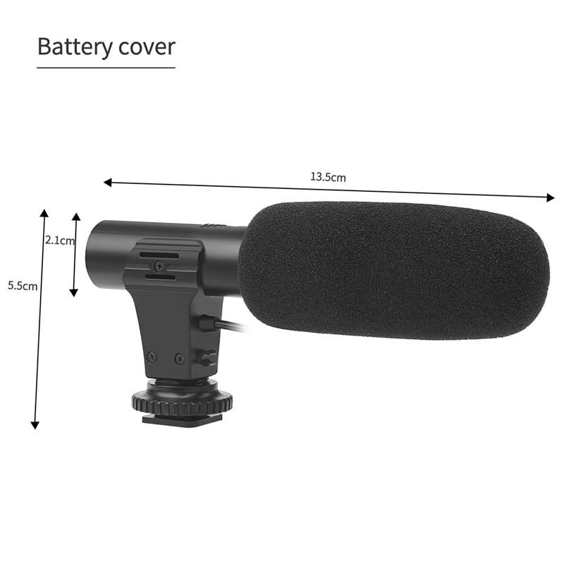 Microfone P2 - DSLR - Stereo