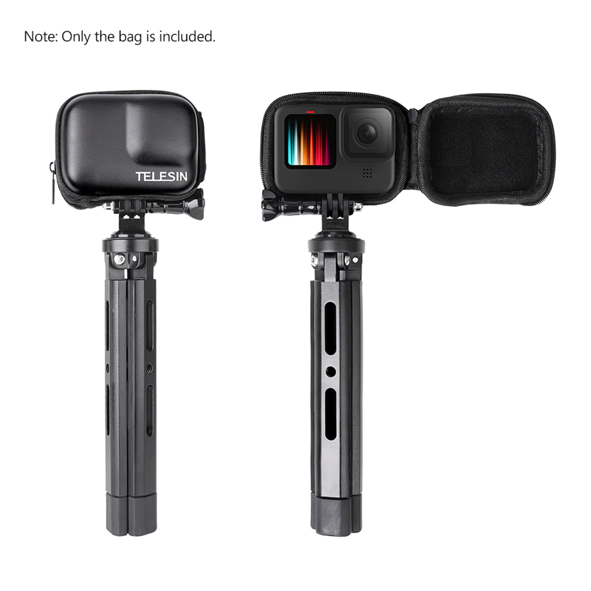 Mini Case Protetora Portátil - GoPro Hero9 Black - Telesin
