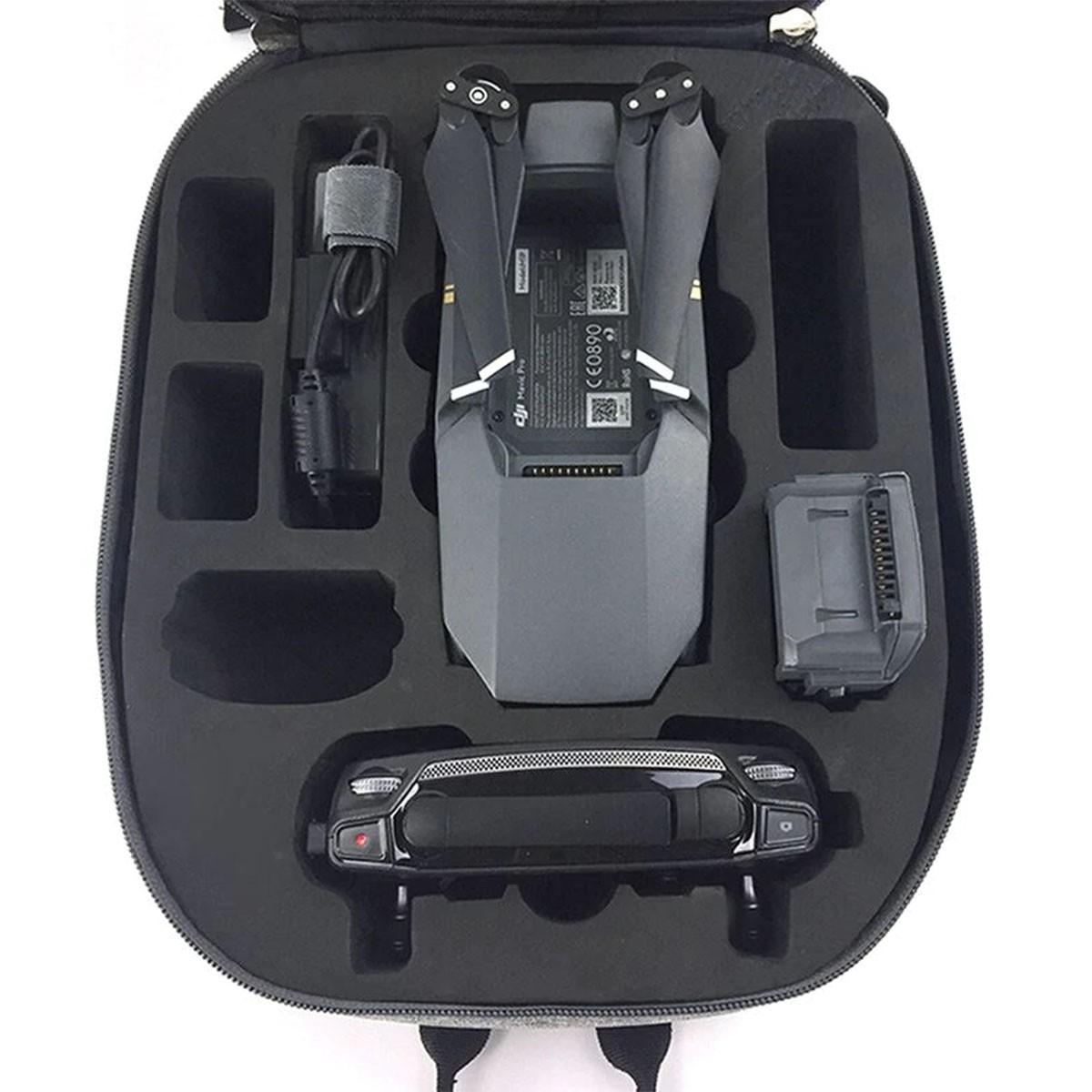 Mochila de Transporte e Proteção - Impermeável - DJI Mavic Pro