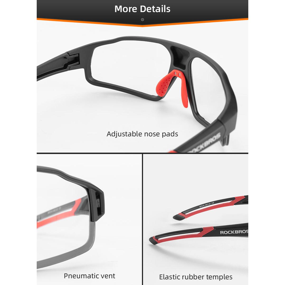 Óculos Bicicleta Ciclismo Bike - Fotocromático - Rockbros