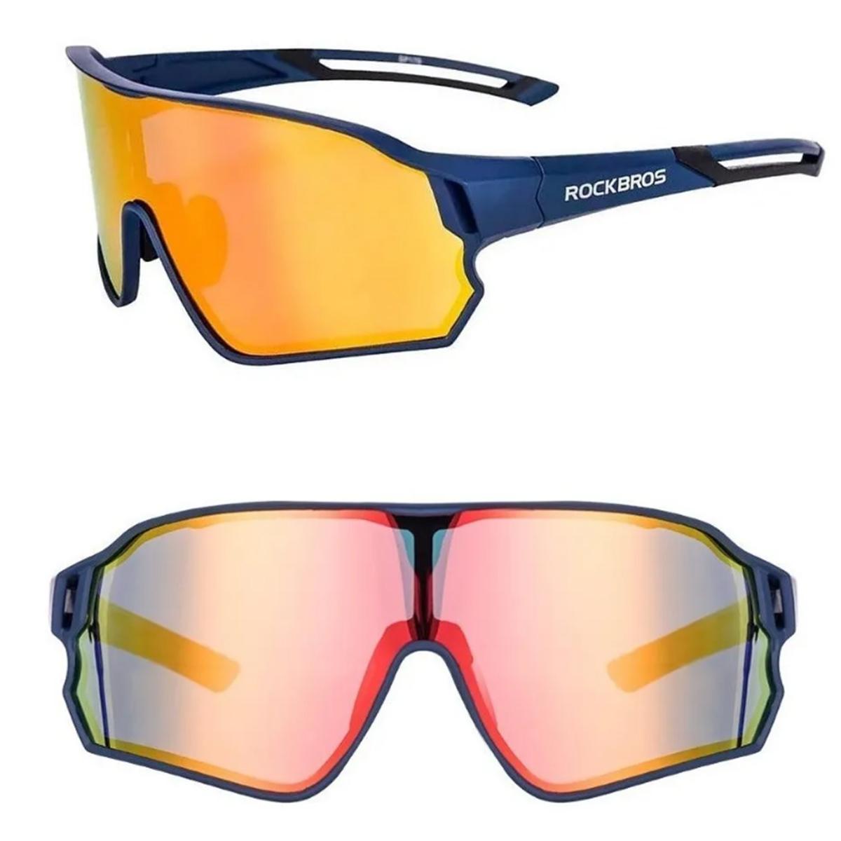 Óculos Bicicleta Ciclismo Bike - Lente Miopia - Polarizado - Rockbros