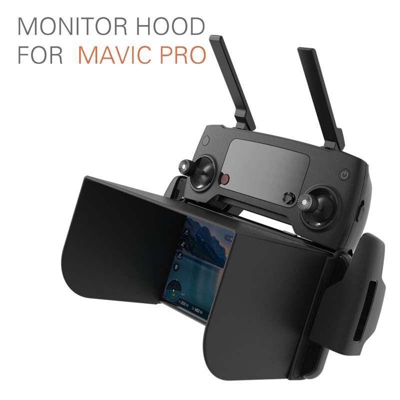 Protetor de Sol para Controle Drone - Monitor Sun Hood  - 128mm