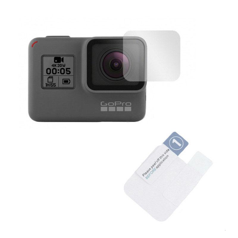 Película de Plástico - Lente e Tela de LCD - GoPro Hero5 Hero6 Hero7 Black