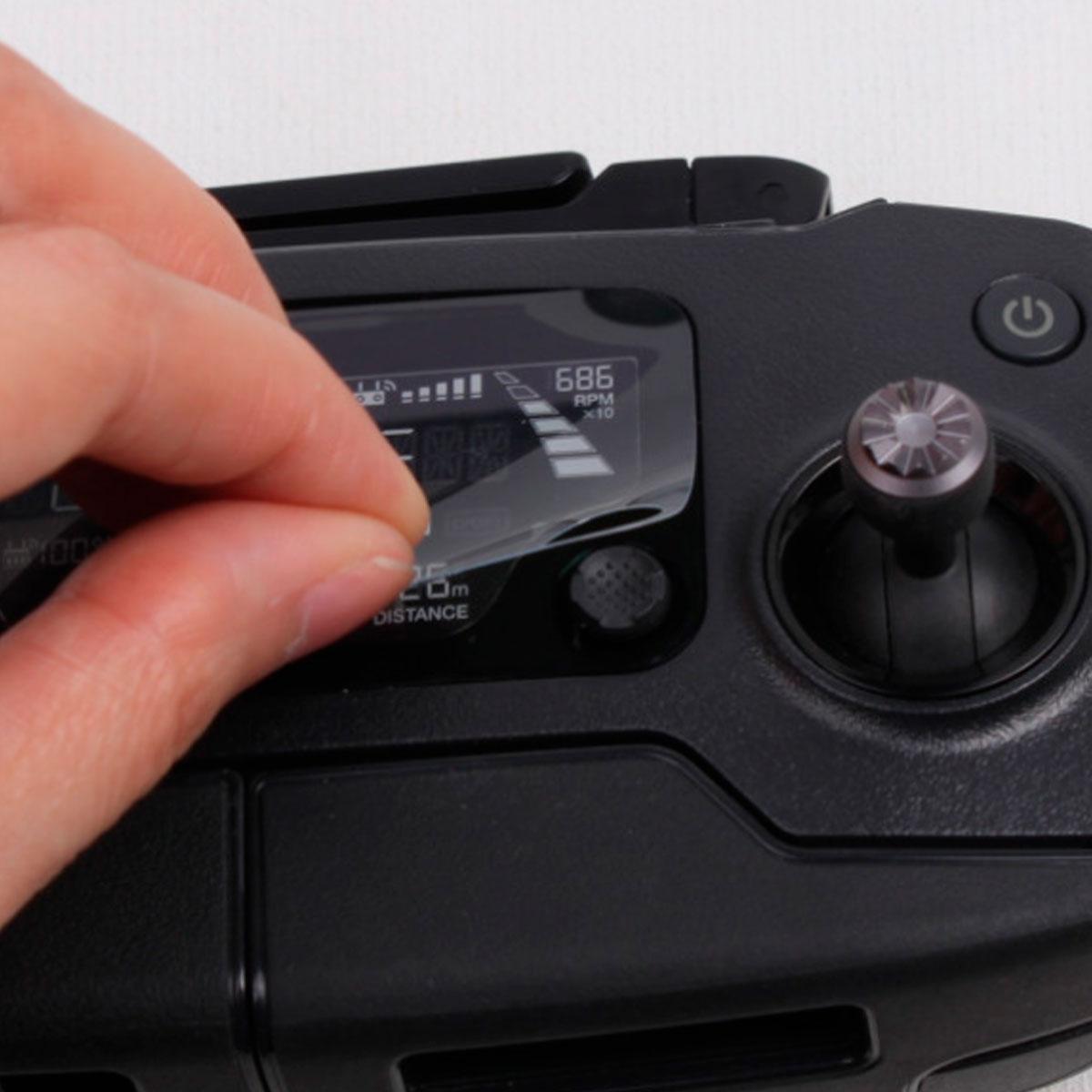 Película de Proteção - Lente e Controle - Drone DJI Mavic Pro - 5 Peças