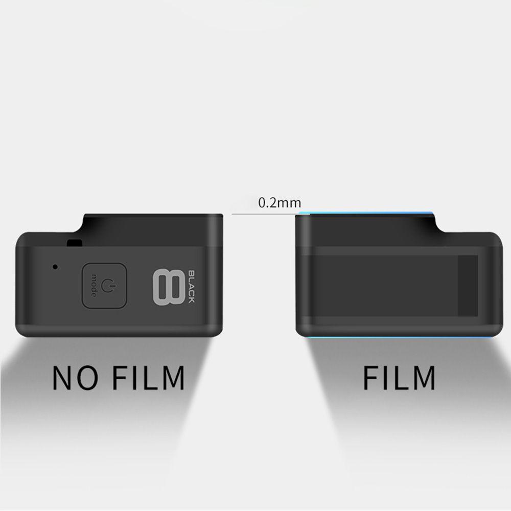 Película de Vidro - Lente, Tela de LCD e Visor - GoPro Hero8 Black