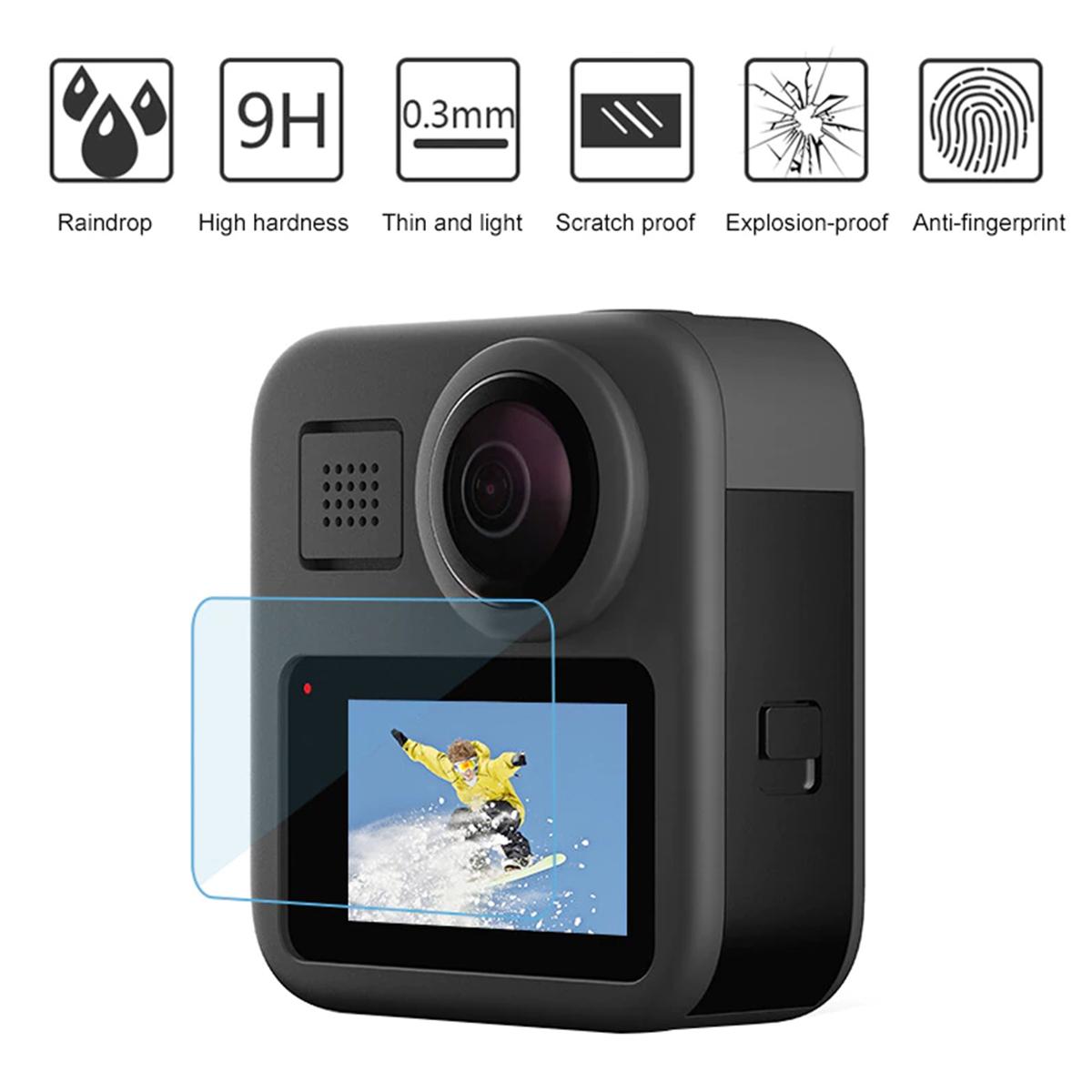 Película de Vidro para Tela de LCD - GoPro Max - Telesin