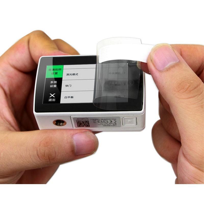 Película de Plástico - Lente e Tela de LCD - Xiaomi Yi 2
