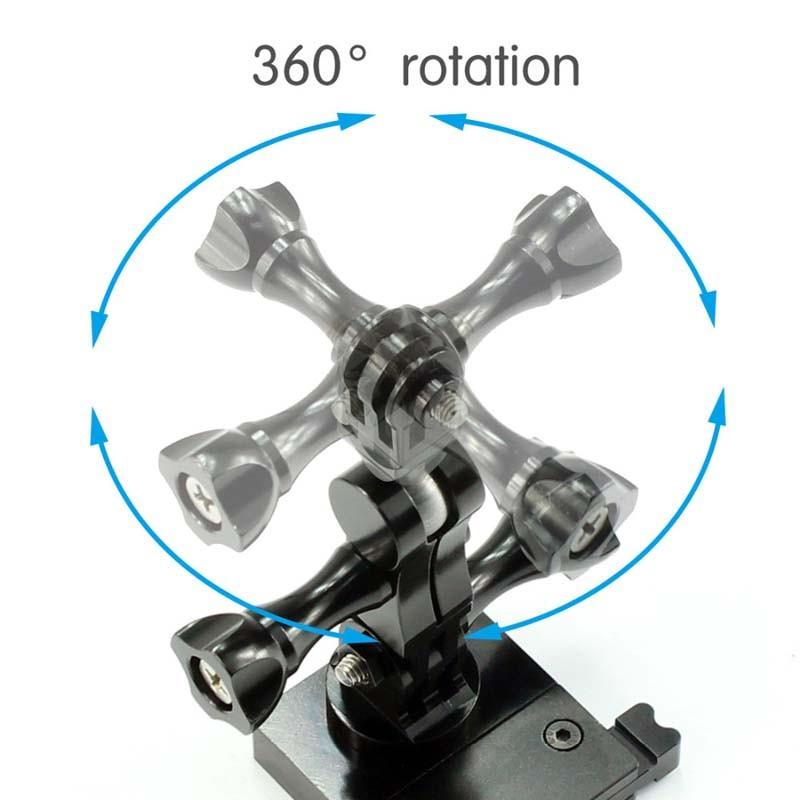Pivot Articulado Alumínio Giratório 360 Graus - GoPro SJCAM Yi Eken