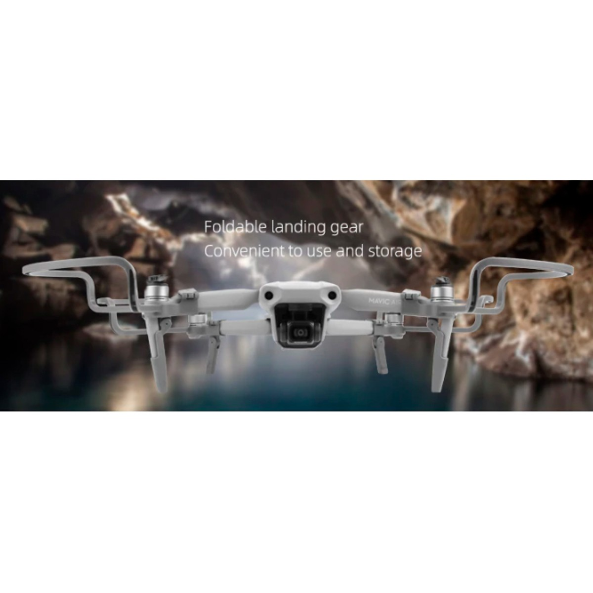 Protetor de Hélices com Trem de Pouso - Drone DJI Mavic Air 2