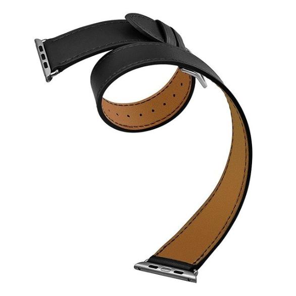 Pulseira para Apple Watch - Couro Longo - 2 Voltas