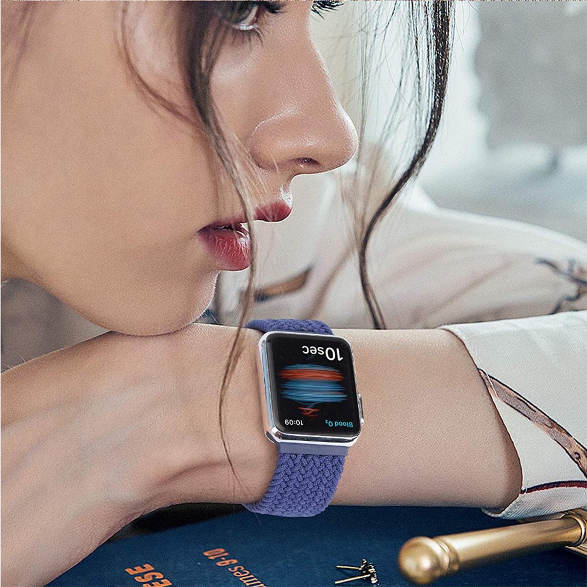 Pulseira para Apple Watch Iwo Loop Solo Nylon Trançada 38/40mm
