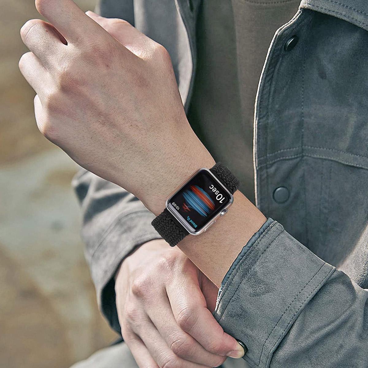 Pulseira para Apple Watch Iwo Loop Solo Nylon Trançada 42/44mm