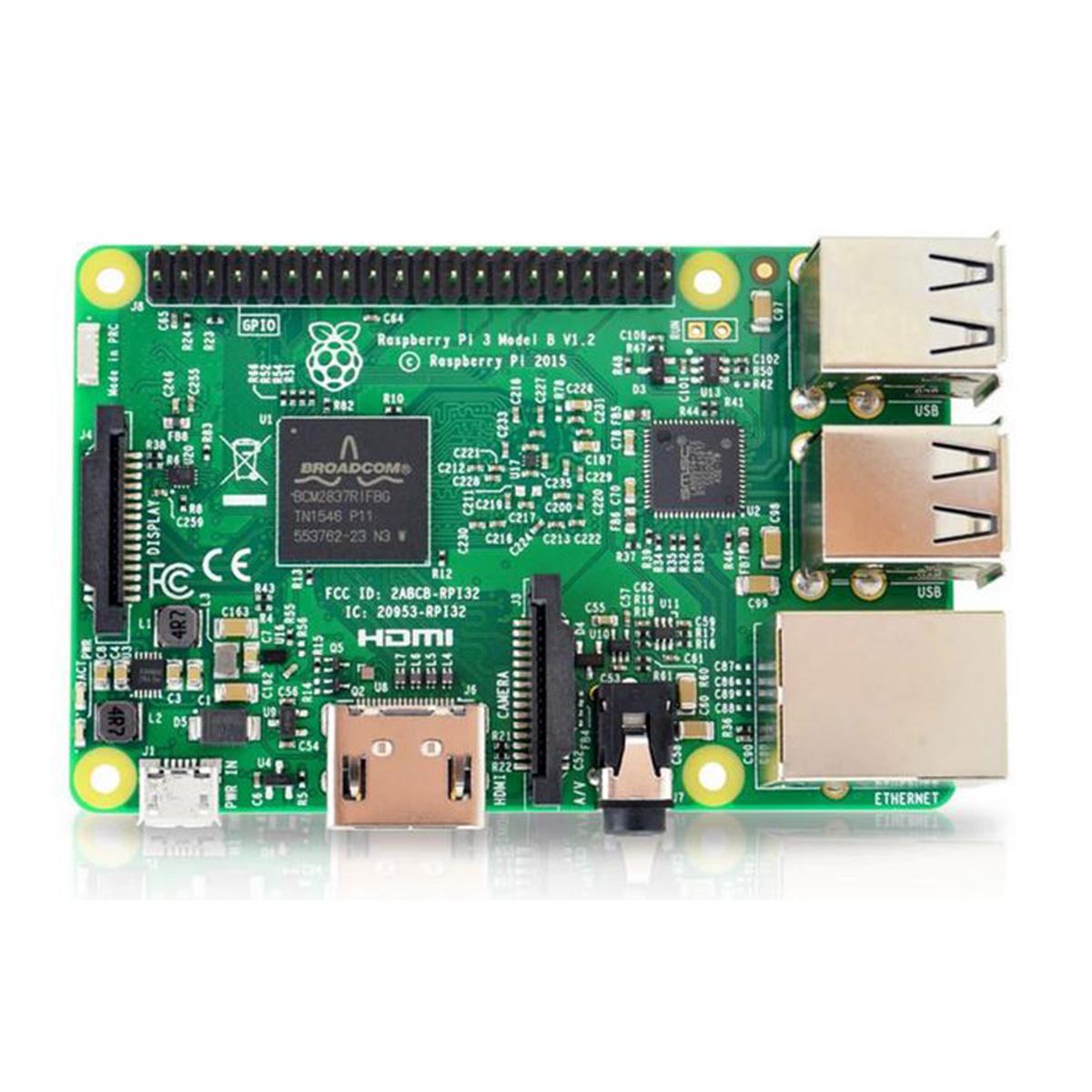 Raspberry - Pi 3 - Model B - Quadcore 1.2ghz - 1GB RAM