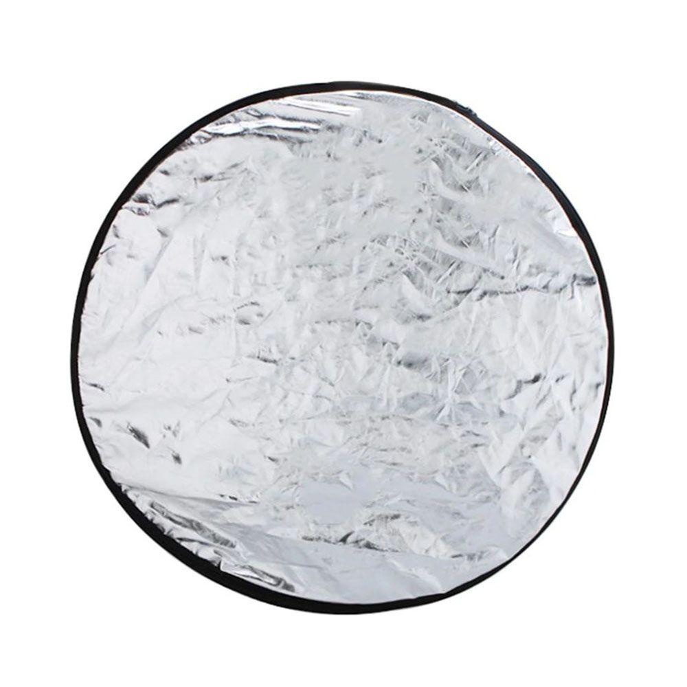Rebatedor Circular - 5 em 1 - 110cm - Refletor Fotográfico Difusor DSLR
