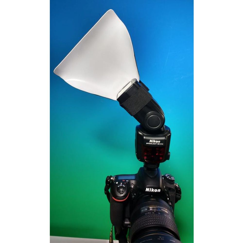 Rebatedor Universal - Flash - Canon Nikon - Reforçado