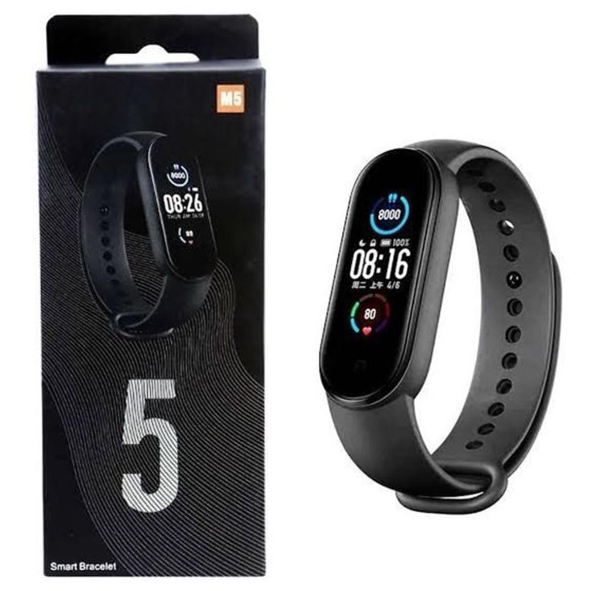 Relógio Inteligente Smartwatch M5 Bluetooth Android/Ios