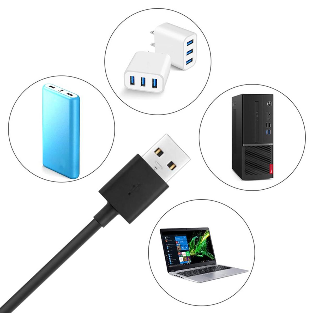 Ring Light USB Flexível e Ajustável com Clip para Smartphone