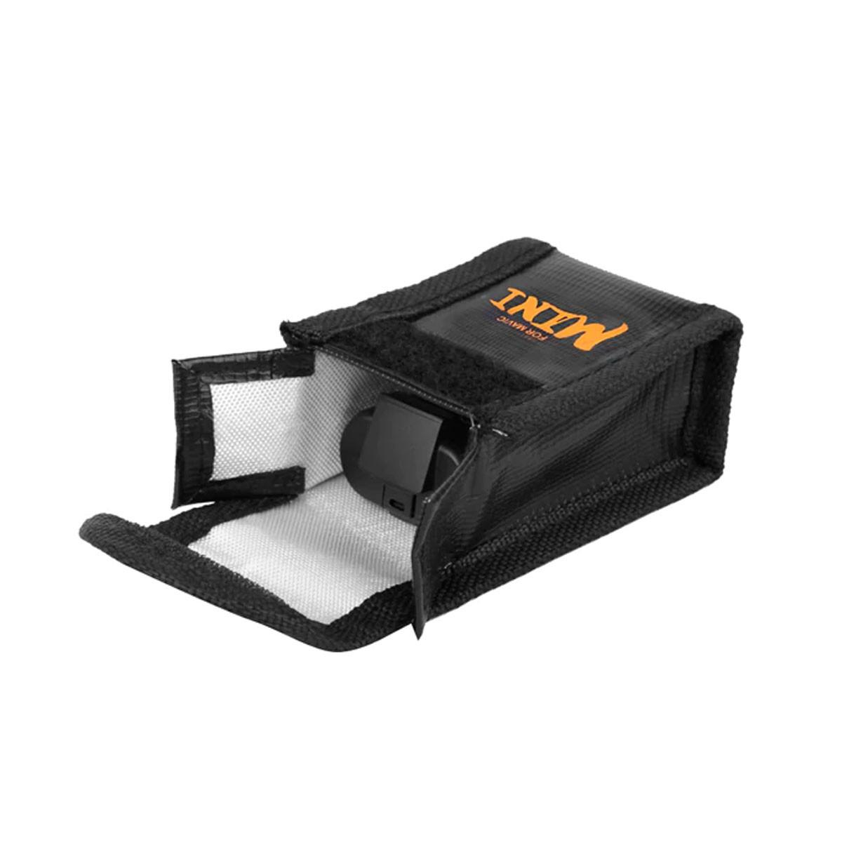 Saco Anti Chama e Explosão para Bateria - Drone DJI Mavic Mini - 1 Bateria