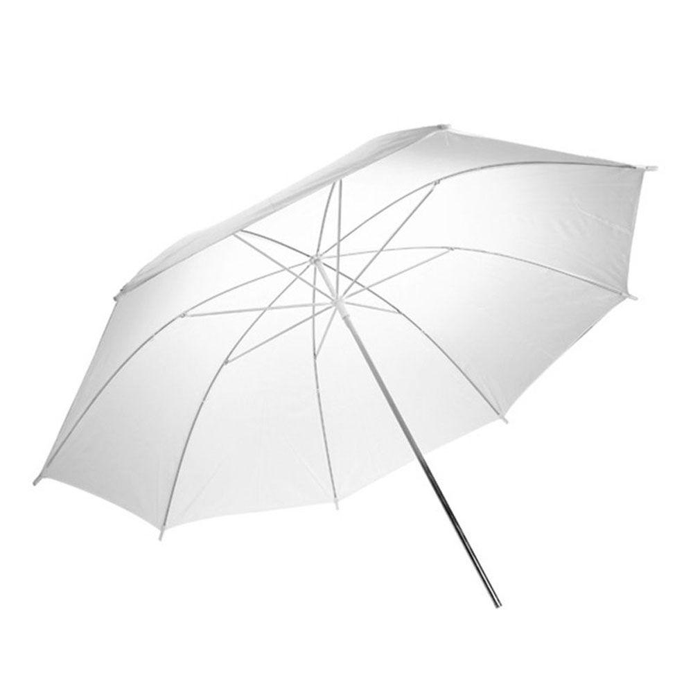 Sombrinha Refletora Rebatedora Fotografia DSLR - Branca - 90 cm