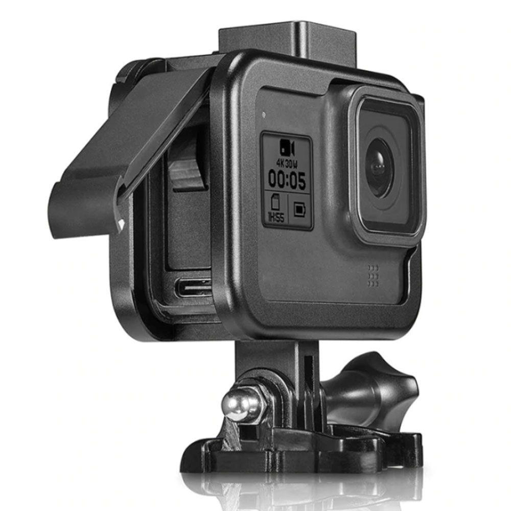Suporte Armação Moldura Frame - Alumínio - GoPro Hero8