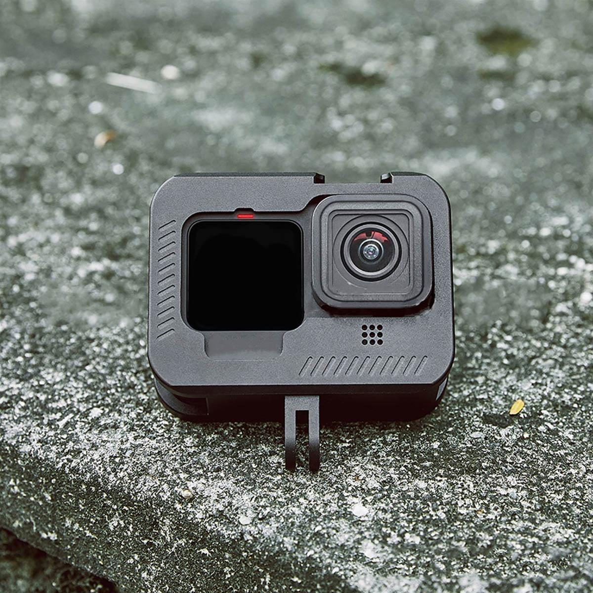 Suporte Armação Moldura Frame - Alumínio - GoPro Hero9 Black