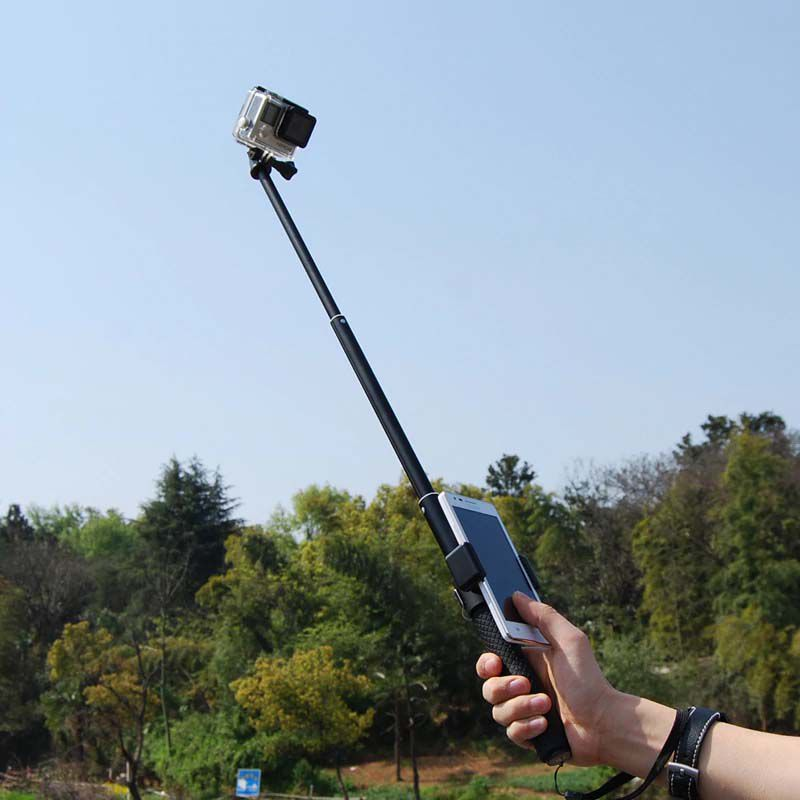 Suporte Celular e Smartphone para Pau de Selfie - Pequeno